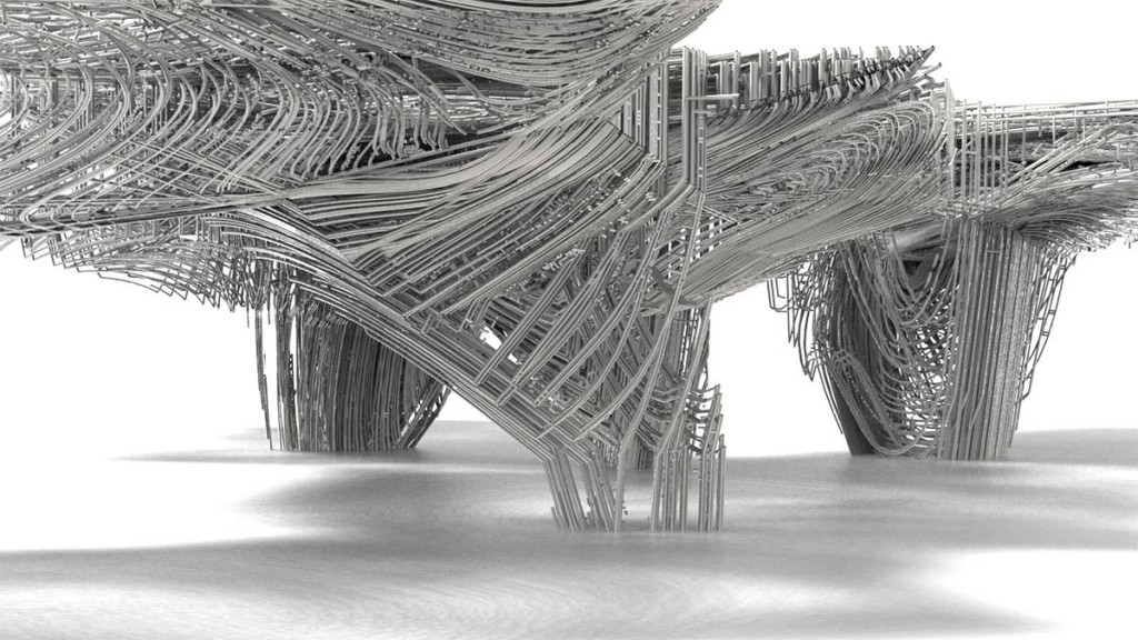 Arbour No.1. The Raw and the Synthetic. Atelier Bruno Juricic